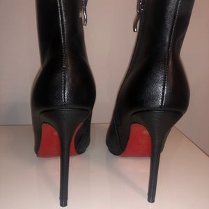 So Kate Red Bottom Booties